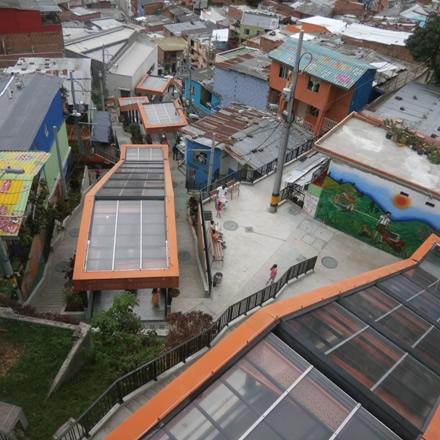 Slum Upgrading in Medellin Columbia